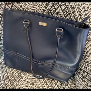 Kate Spade Navy Leather Shoulder Bag